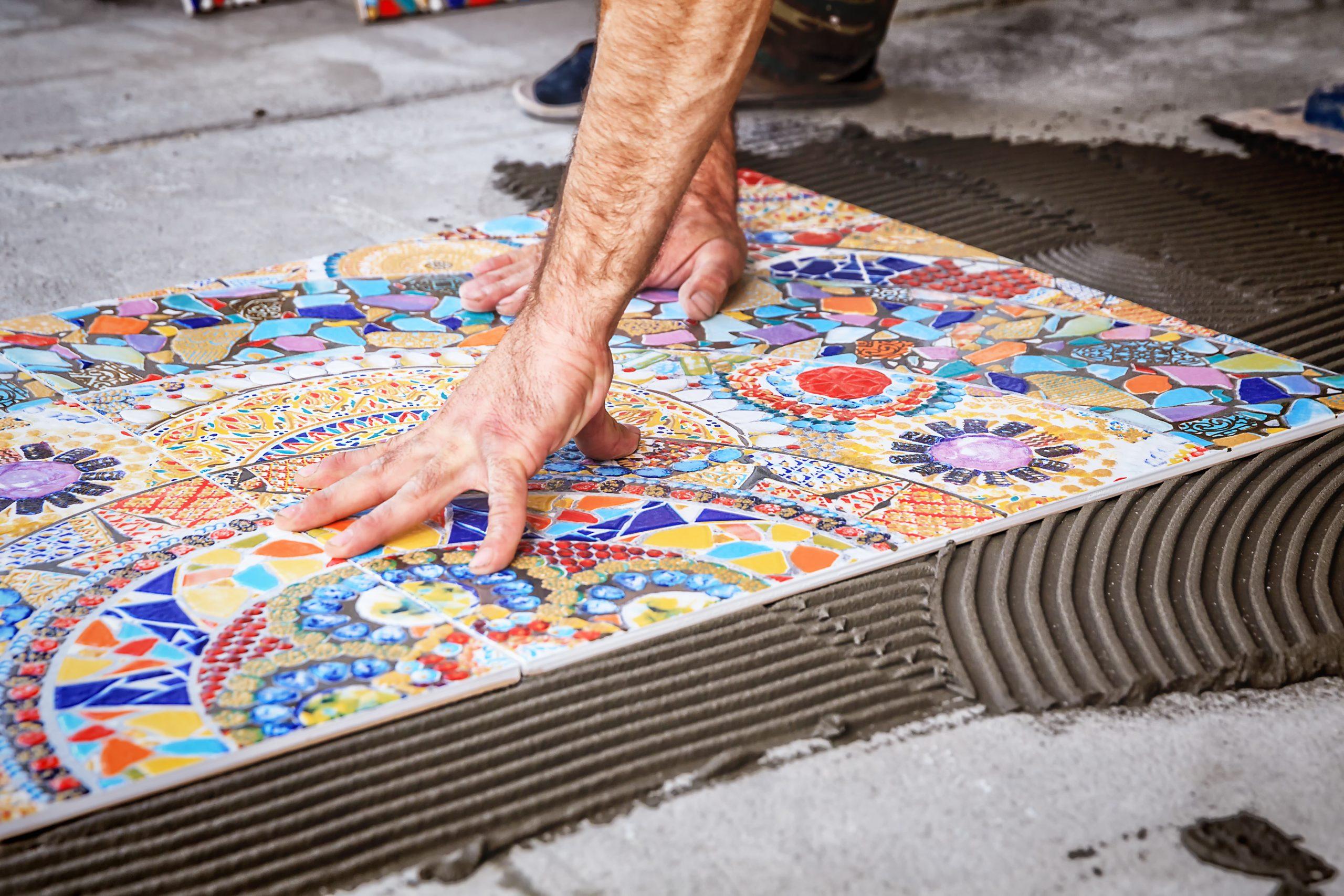 Southampton Tilers Mosaic